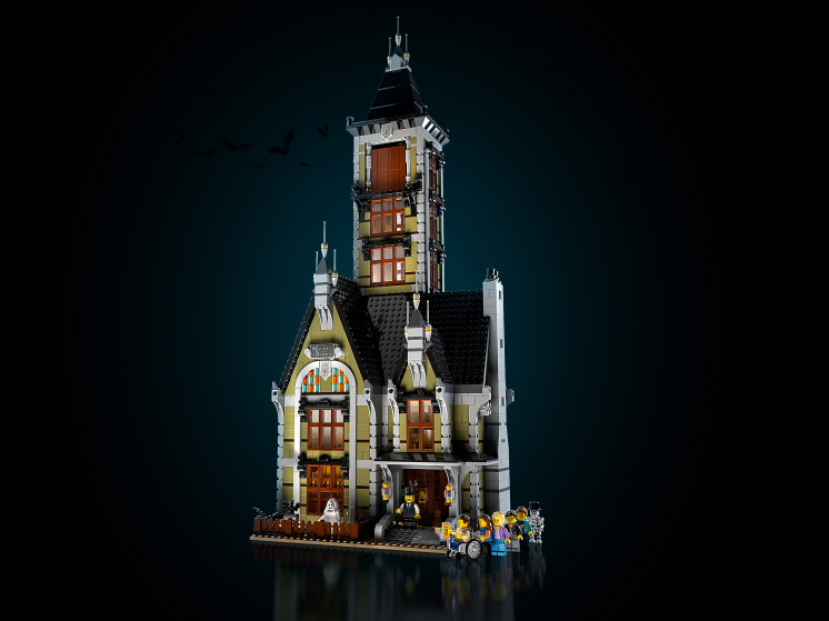 10273 Lego Creator Expert - Дом с привидениями