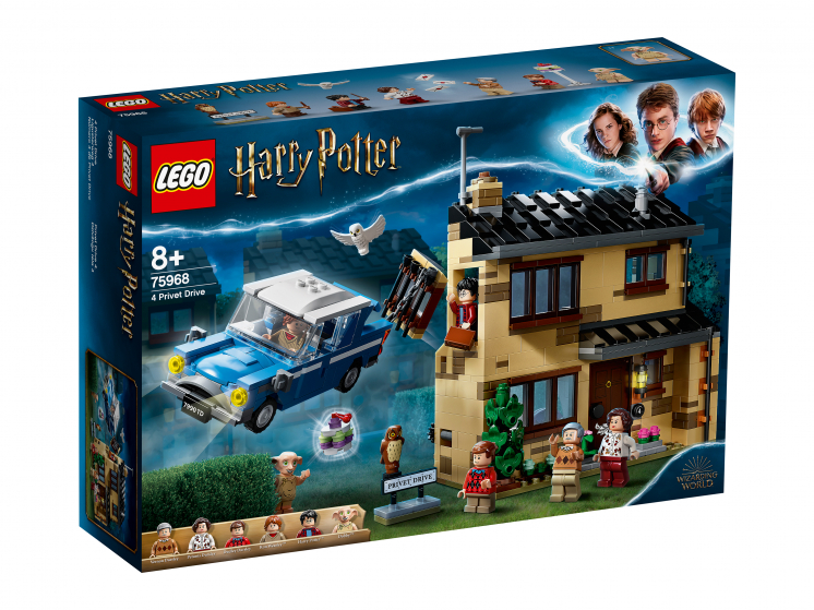 75968 Lego Harry Potter - Тисовая улица, дом 4