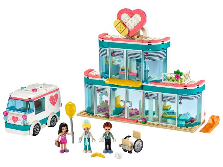 41394 Lego Friends - Городская больница Хартлейк Сити