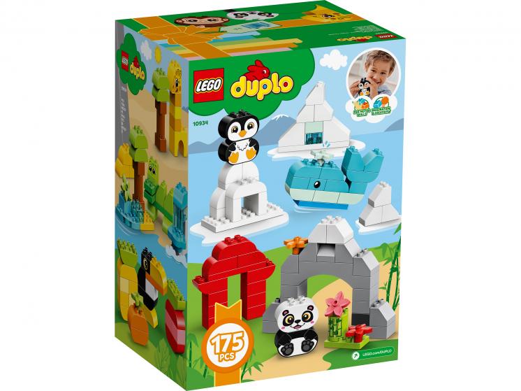 10934 Lego Duplo - Весёлые зверюшки