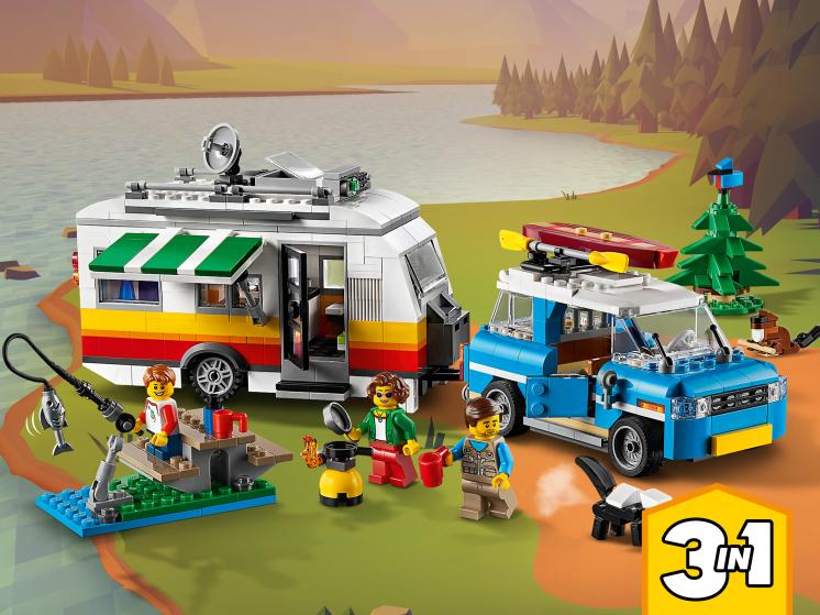 31108 Lego Creator - Отпуск в доме на колесах