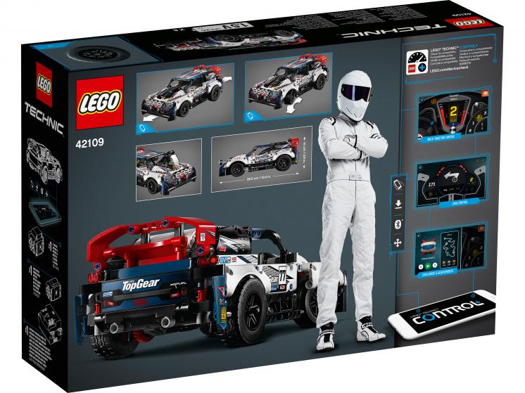42109 Lego Technic - Гоночный автомобиль Top Gear на управлении