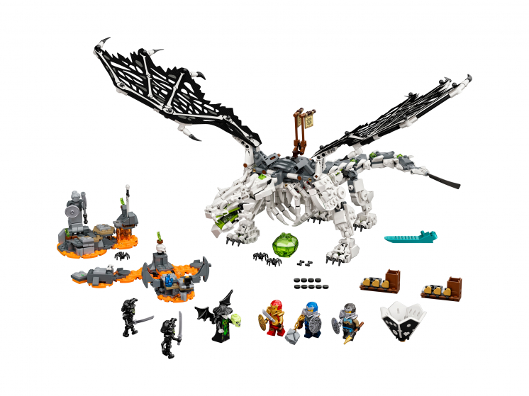 71721 Lego Ninjago - Дракон чародея-скелета