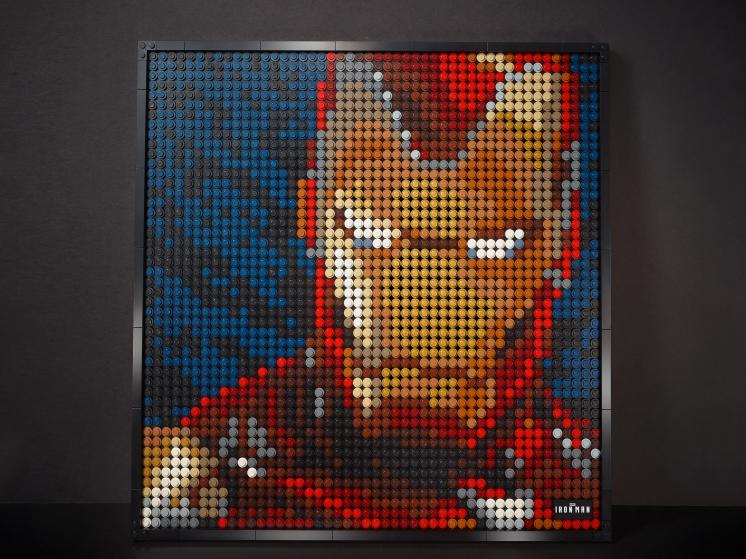 31199 Lego Art - «Железный человек» Marvel Studio