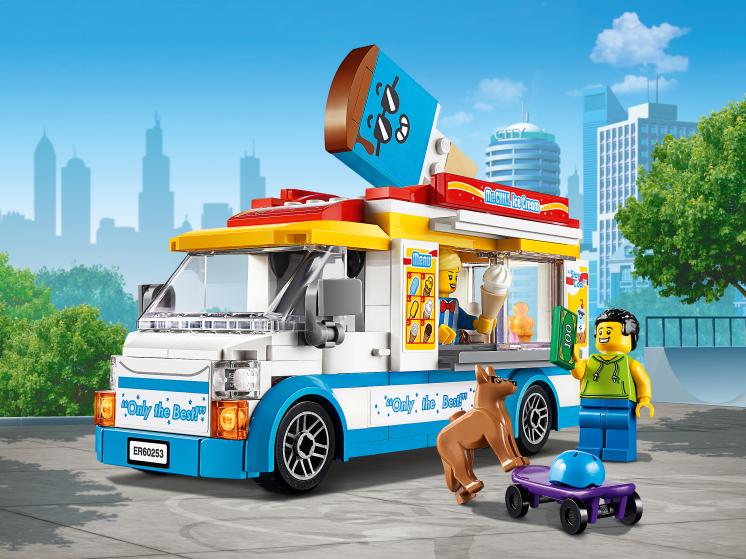 60253 Lego City - Грузовик мороженщика