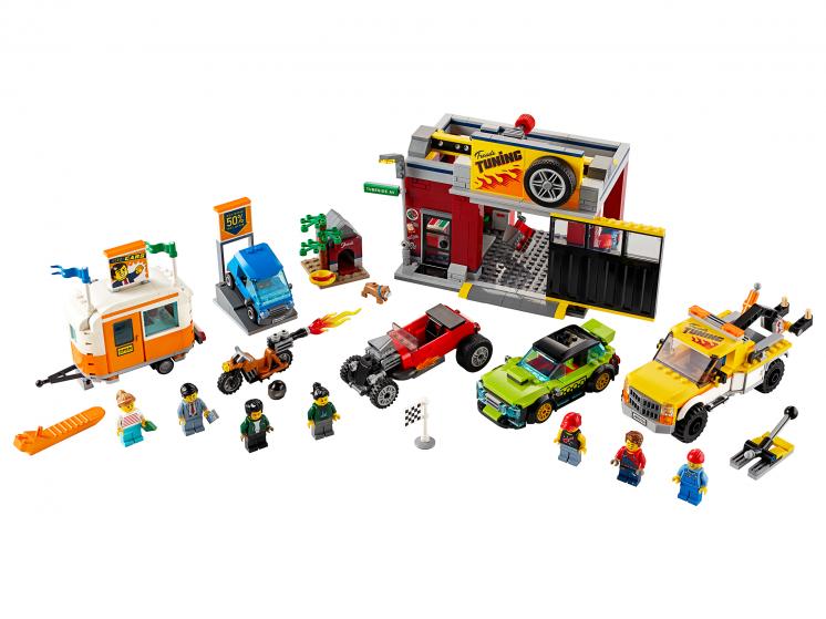 60258 Lego City - Тюнинг-мастерская