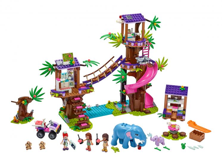 41424 Lego Friends - Джунгли: штаб спасателей