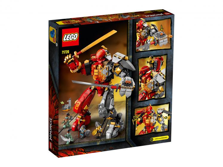 71720 Lego Ninjago - Каменный робот огня