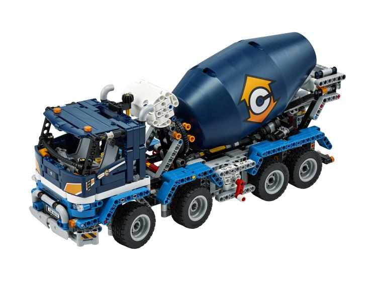 42112 Lego Technic - Бетономешалка
