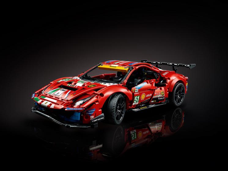 "42125 Lego Technic - Ferrari 488 GTE ""AF Corse #51"""