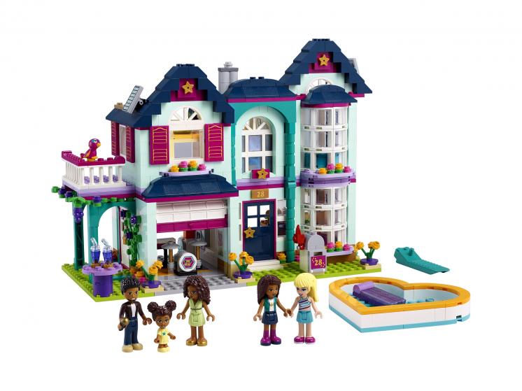 41449 Lego Friends - Дом семьи Андреа