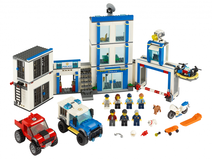 60246 Lego City - Полицейский участок