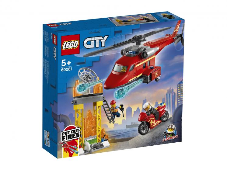 60281 Lego City - Спасательный пожарный вертолёт