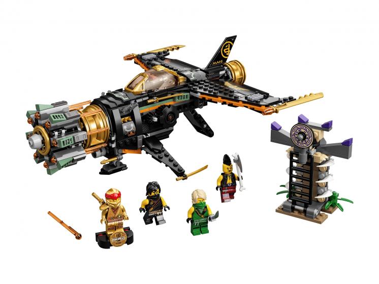 71736 Lego Ninjago - Скорострельный истребитель Коула
