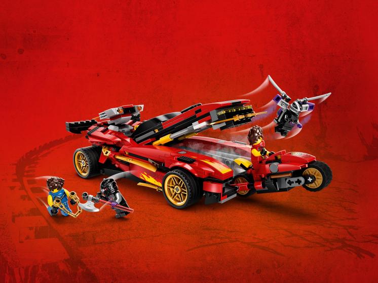 71737 Lego Ninjago - Ниндзя-перехватчик Х-1