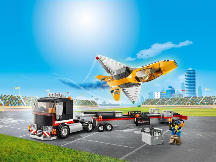 60289 Lego City - Транспортировка самолёта на авиашоу