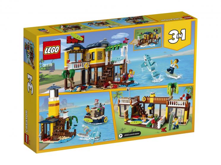 31118 Lego Creator - Пляжный домик серферов