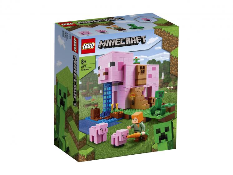 21170 Lego Minecraft – Дом-свинья