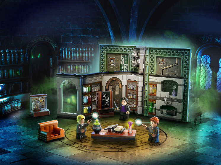 76383 Lego Harry Potter  - Учёба в Хогвартсе: Урок зельеварения