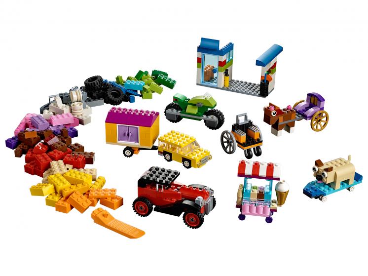 10715 Lego Classic - Модели на колёсах