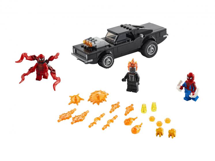 76173 Lego Marvel Super Heroes - Человек-Паук и Призрачный Гонщик против Карнажа