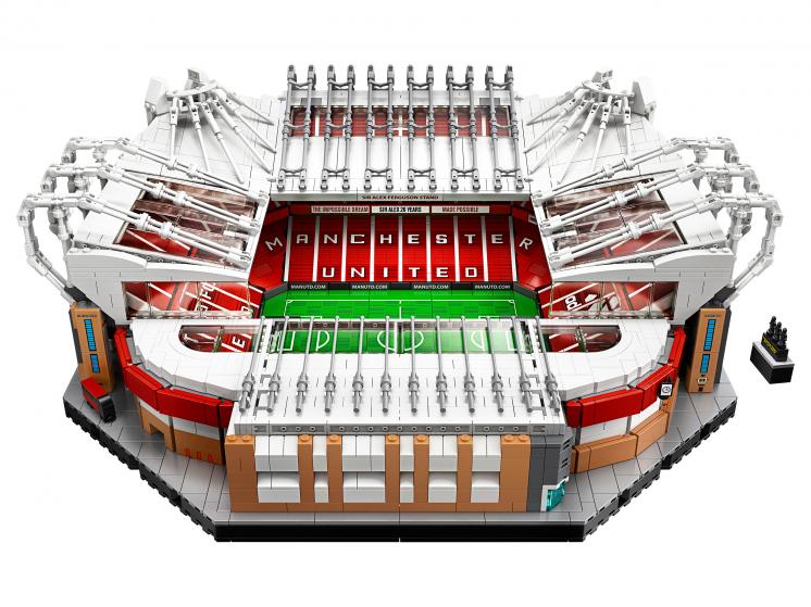 10272 Lego Creator - Стадион Олд Траффорд - «Манчестер Юнайтед»