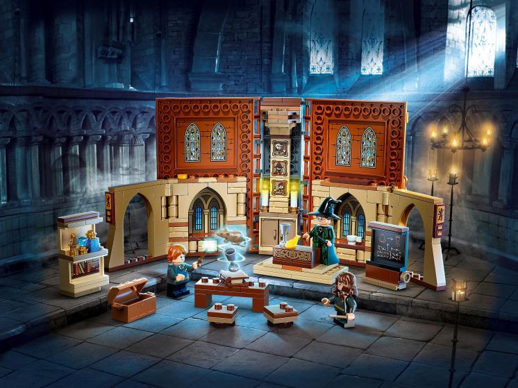 76382 Lego Harry Potter  - Учёба в Хогвартсе: Урок трансфигурации