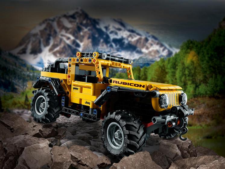 42122 Lego Technic - Jeep® Wrangler