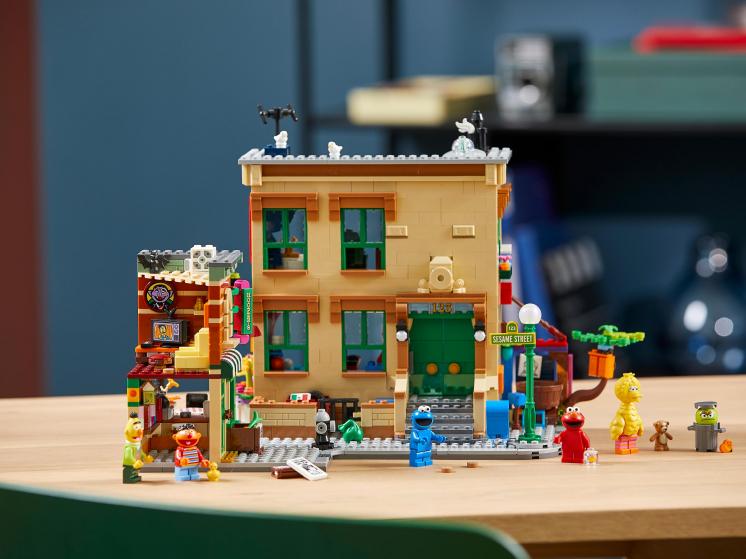 21324 Lego Ideas - Улица Сезам