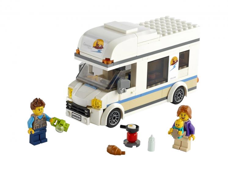 60283 Lego City - Отпуск в доме на колёсах