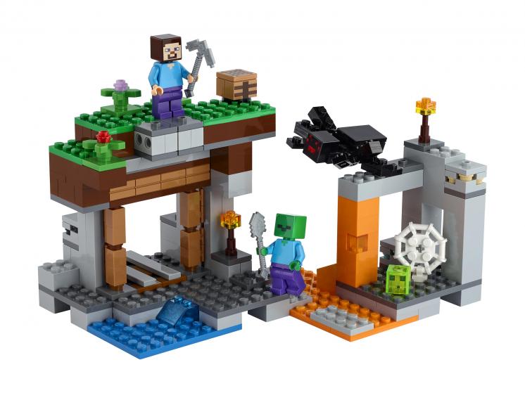 21166 Lego Minecraft - «Заброшенная» шахта