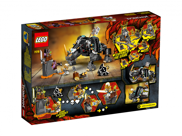 71719 Lego Ninjago - Бронированный носорог Зейна