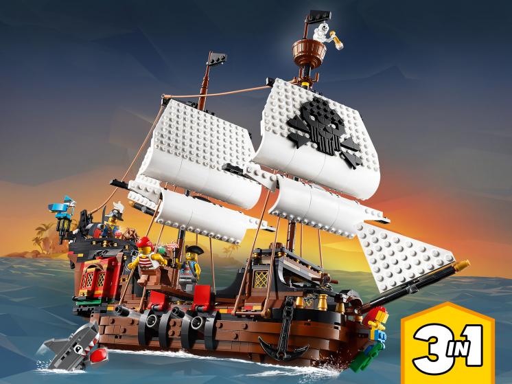 31109 Lego Creator 3in1 - Пиратский корабль