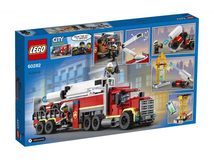 60282 Lego City - Команда пожарных