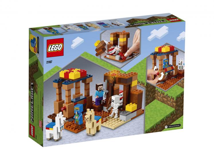 21167 Lego Minecraft - Торговый пост