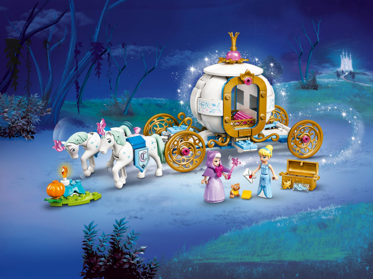 43192 Lego Disney - Королевская карета Золушки