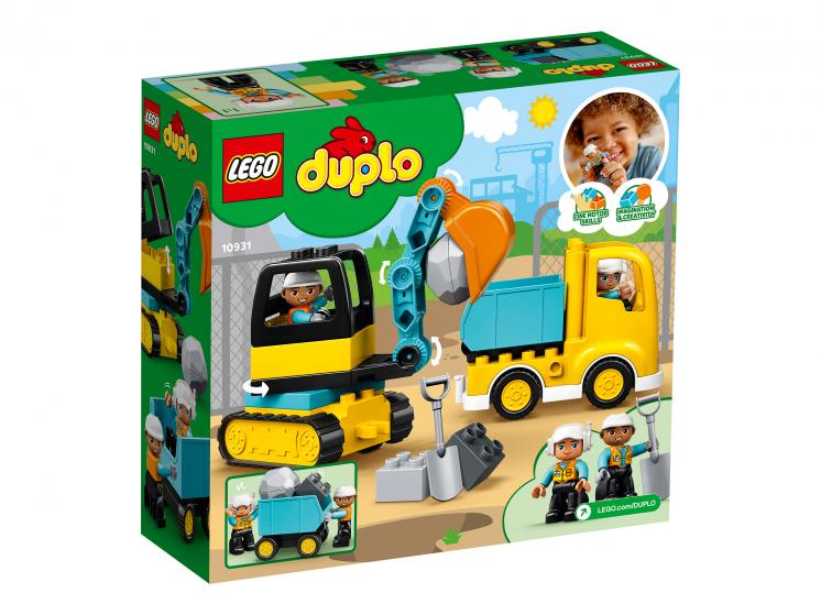 10931 Lego Duplo - Грузовик и гусеничный экскаватор