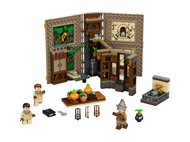 76384 Lego Harry Potter  - Учёба в Хогвартсе: Урок травологии