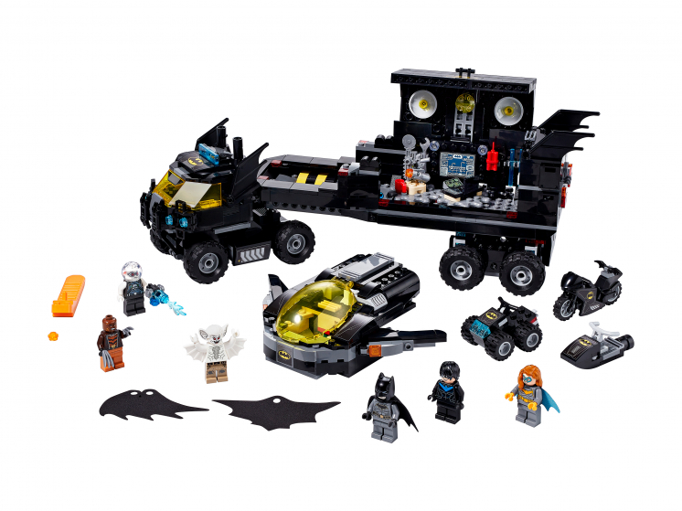 76160 Lego DC Super Heroes - Мобильная база Бэтмена