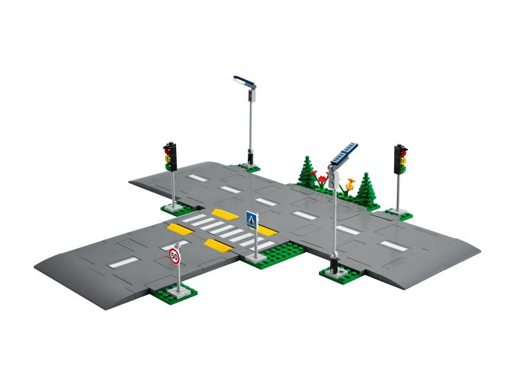 60304 Lego City - Дорожные пластины