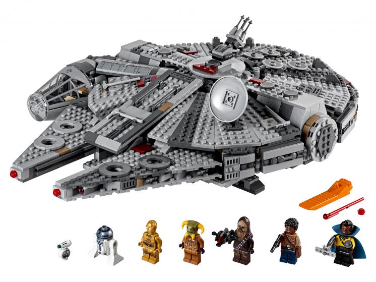 75257 Lego Star Wars - Сокол Тысячелетия