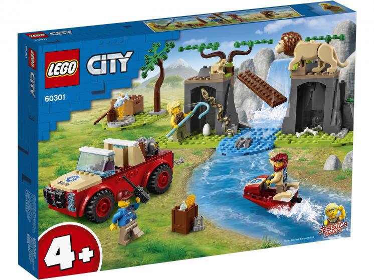 60301 Lego City - Спасательный внедорожник для зверей