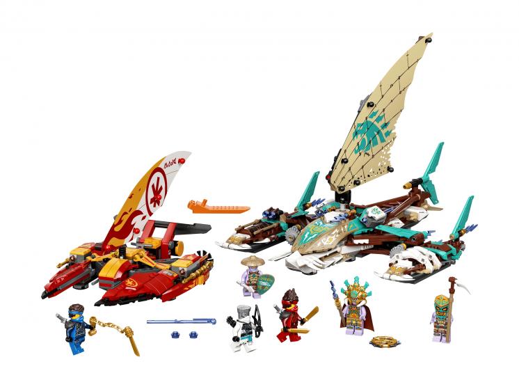 71748 Lego Ninjago - Морская битва на катамаране