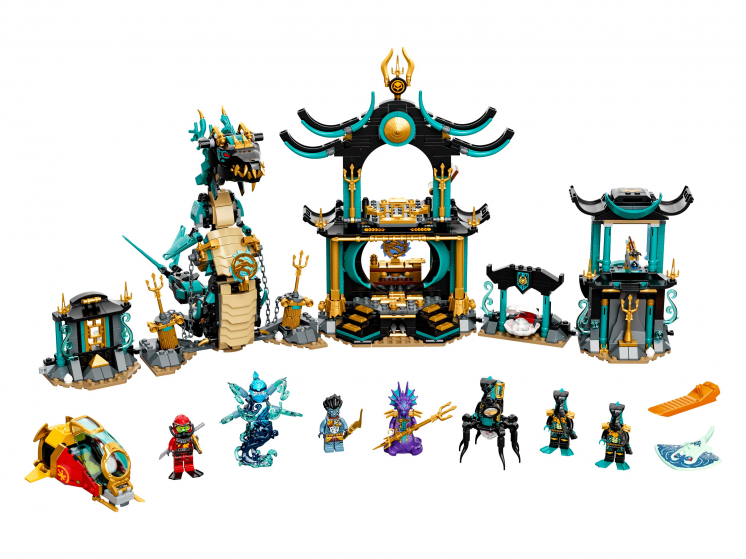 71755 Lego Ninjago - Храм Бескрайнего моря