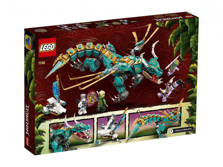71746 Lego Ninjago - Дракон из джунглей