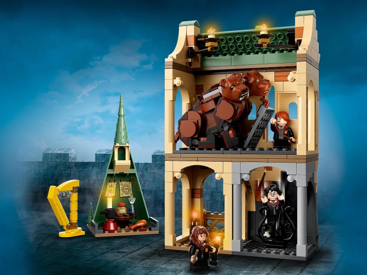 76387 Lego Harry Potter  - Хогвартс: пушистая встреча