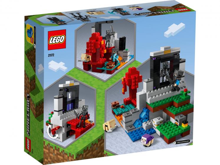 21172 Lego Minecraft - Разрушенный портал