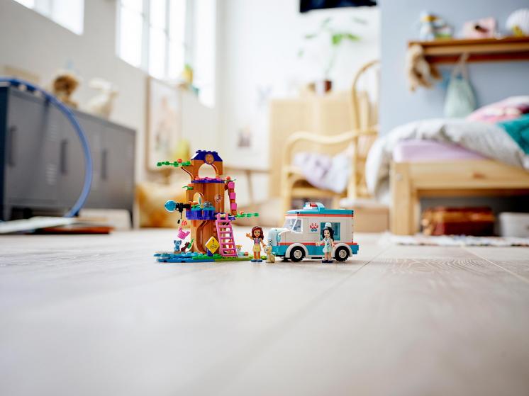 41445 Lego Friends - Машина скорой ветеринарной помощи
