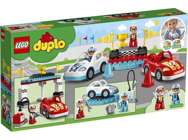 10947 Lego Duplo - Гоночные машины