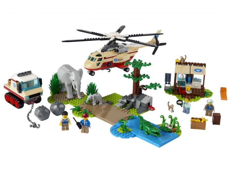 60302 Lego City - Операция по спасению зверей